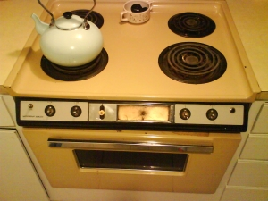 "Our ""Vintage"" Stove"